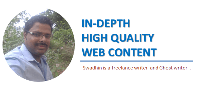 Hire Swadhin agrawal as a freelance writer