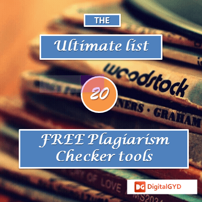 top best online plagiarism checker tools and websites  ultimate list of plagiarism checker tools to detect
