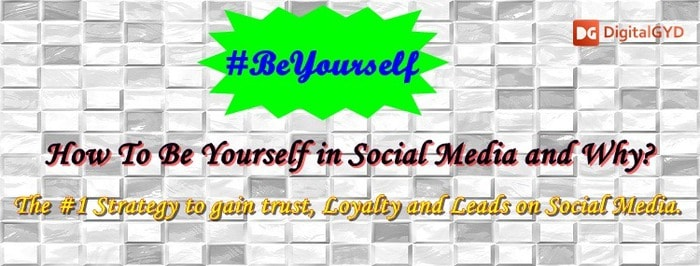 How To Be Yourself In Social Media & Promote Your Business