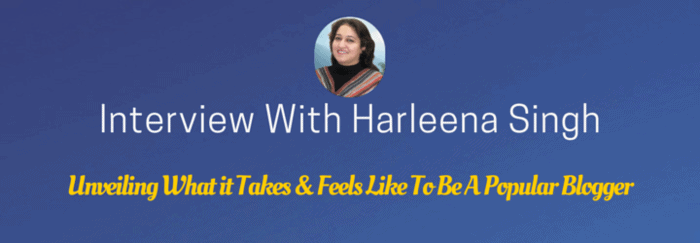 interview with harleena singh