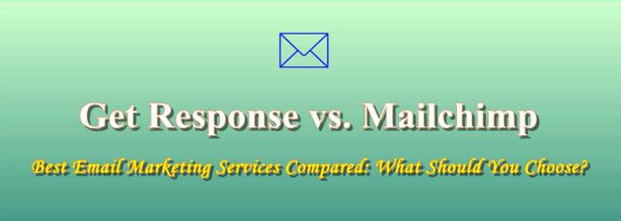 Get response vs Mailchimp getresponse chrstmas sale disocunt 40