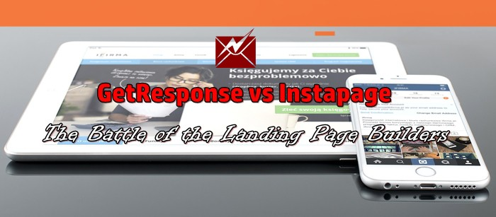 getresponse vs instapage landing page builders