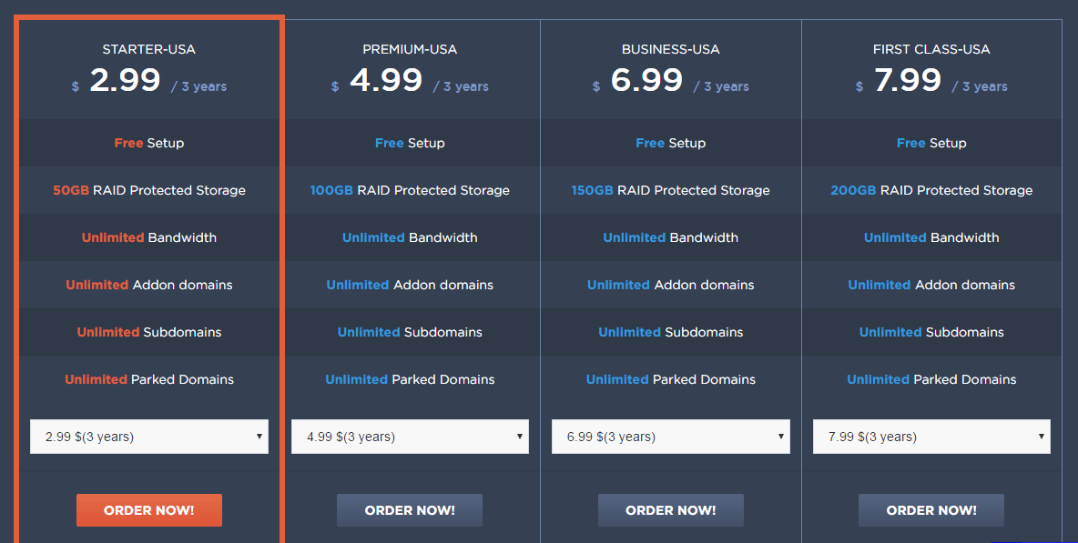 temok web hosting pricing plans and review discount