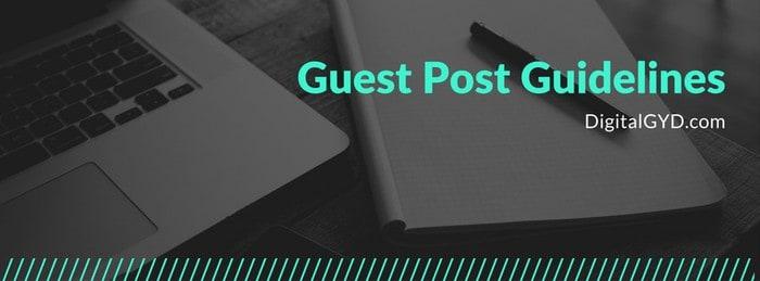 Guest Post Guidelines DigitalGYD.com