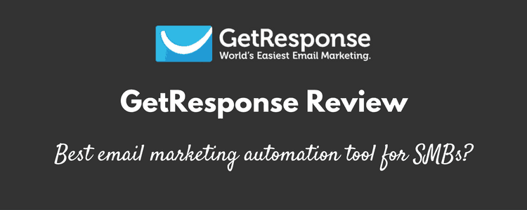 getresponse review: Affordable email marketing solution