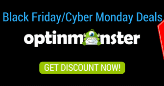 OPTINMONSTER BLACK FRIDAY CUBER MONDAY DISCOUNT DEAL 2016 COUPON CODES
