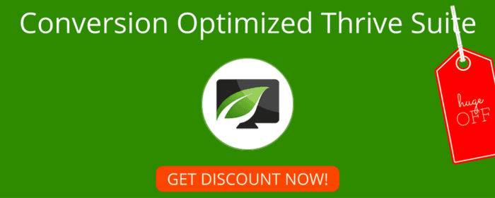 Thrive themes discount coupon codes 2016 (thrive lead discount coupon code thrive & content builder discount coupon code)