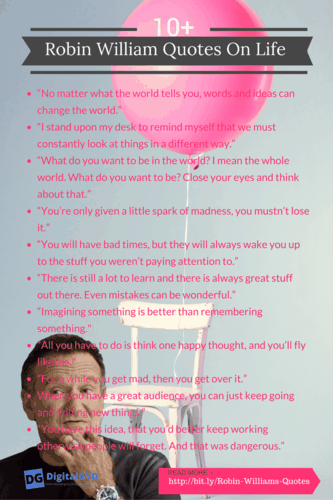 Robin Williams Quotes About Life Top 27 Best Robin Williams Movie Quotes For Entrepreneurship Success