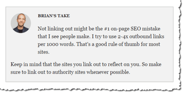 Brian Dean of Backlinko Speaks About On Page SEO and Outbound Links