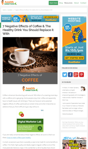Focus blog theme review: Best theme for affiliate marketers by Thrive Themes