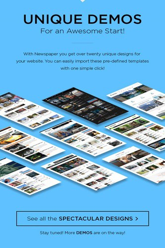 download newspaper theme by themeforest