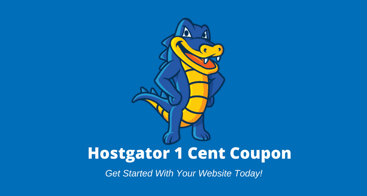 Hostgator 1 cent coupon code: Penny hosting discount