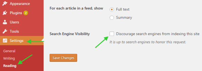 How to discourage search engines from indexing your site.