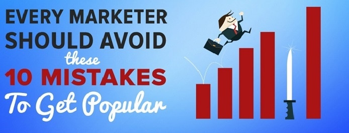 Marketing mistakes to avoid for bloggers