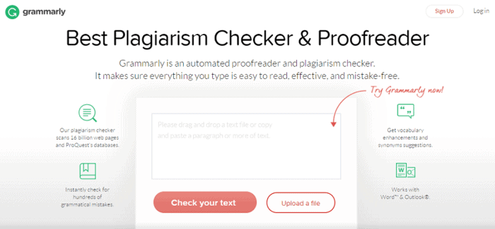 Grammarly plagiarism checker for teachers