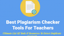 Top 20 best free online plagiarism checker tools and websites {2018}