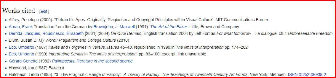 How Wikipedia Cites sources to prevent plagiarism