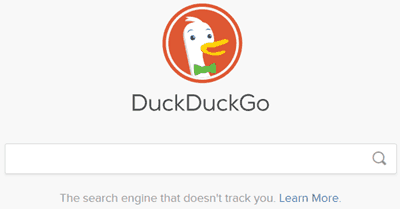 DucuDuckGo best anonymous search engine