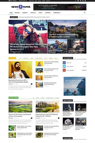 Newspaper theme AdSense optimized ad friendly WordPress theme
