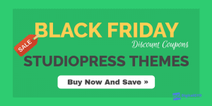 StudioPress themes Black Friday Deals and Discount Coupons Genesis Framework