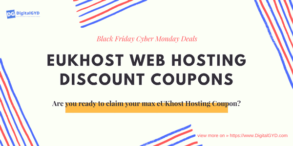eukhost hosting black friday cyber monday promo codes discount coupons