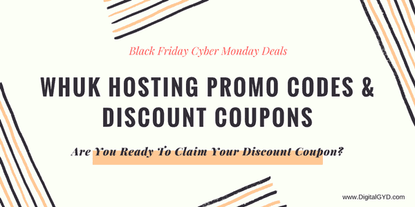 WHUK hosting promo codes Black Friday Cyber Monday discount coupons
