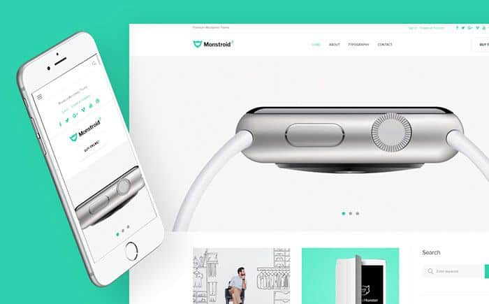 Monstroid lite 2: Free Multipurpose WordPress Theme