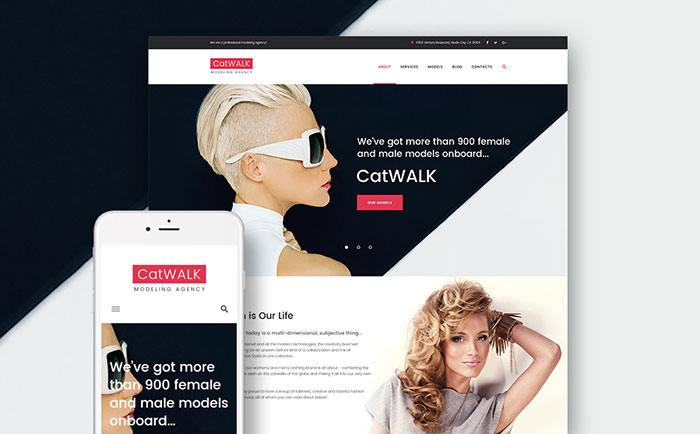 Free responsive WordPress theme for fashion blogs