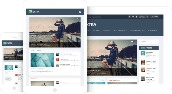 Extra-Best WordPress Blog Themes