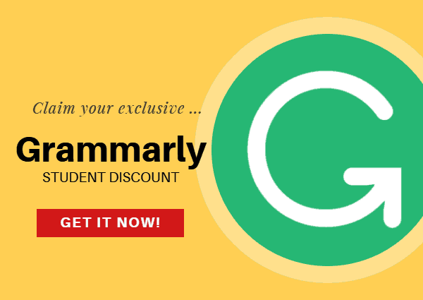 Best Grammarly Student Discount Coupon: Official Coupon (Sep