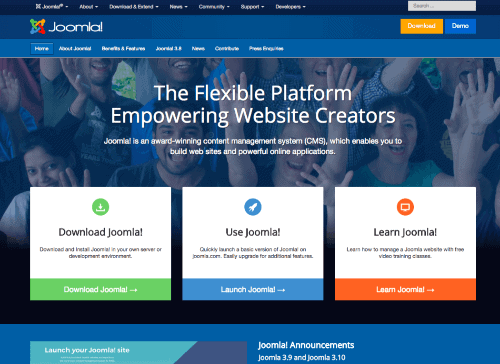 WordPress Alternative: Joomla