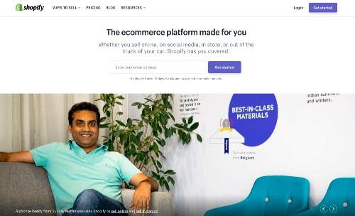 Shopify WordPress Alternative eCommerce platform