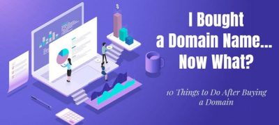 I Bought a Domain Name Now What? Exact Things to Do Next [New]