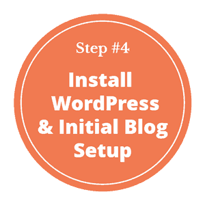 How to start a blog in India - step 4- install WordPress