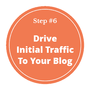 How to start a blog and make money in 2020- step 6- get traffic to your new blog