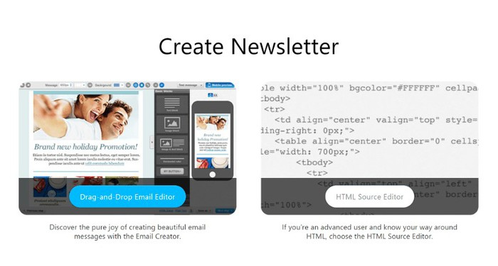 GetResponse  newsletter builder
