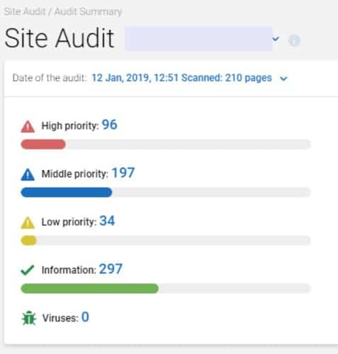 Serpstat Site Audit tool review