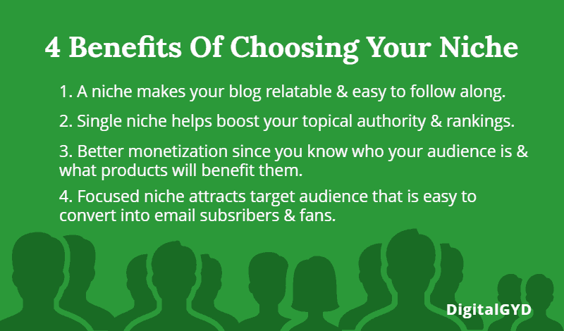 Why choose a blog niche? 4 benefits