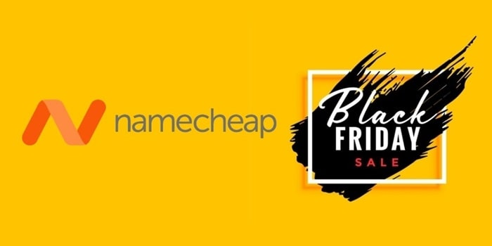 Namecheap Black Friday Cyber Monday Deal on Domain & Hosting (2019)