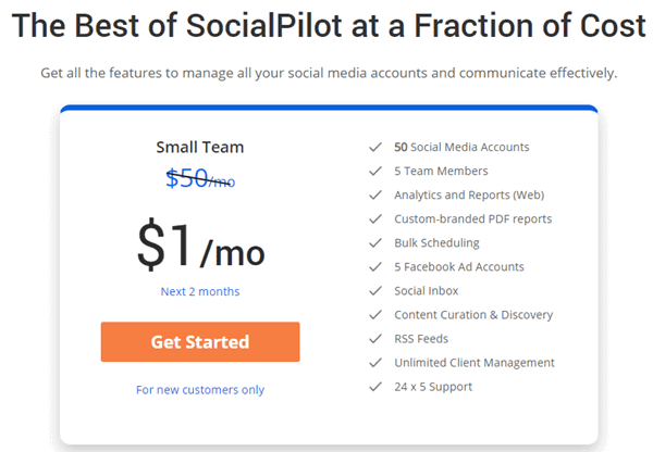 SocialPilot Discount Coupon