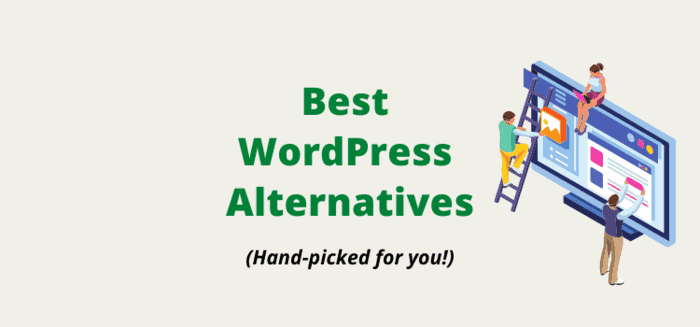 WordPress Alternatives: Best Alternatives To WordPress