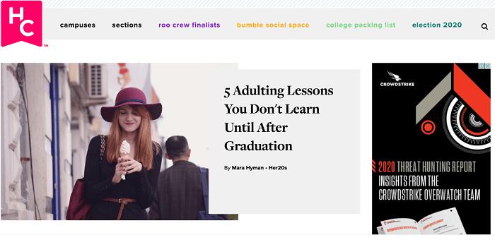 Her Campus blog