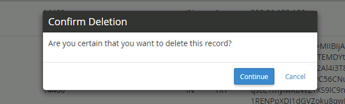 delete previous MX records and add new ones from G Suite