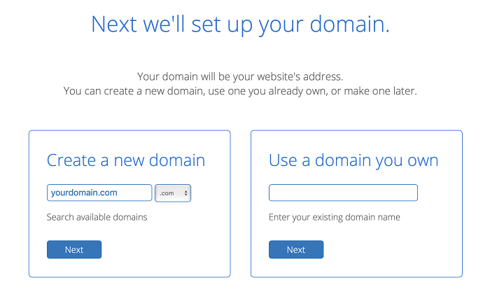 set up your domain on Bluehost