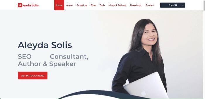 Aleyda Solis' blog