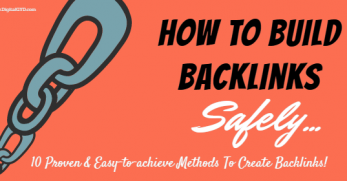 10 tips to build backlinks safely to your blog